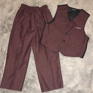 Other - Plum/Burgundy Suit